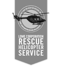 lowe corporation rescue helicopter trust logo